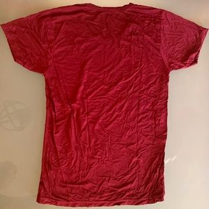 Fuchao Shirts - The Perfect Burgundy Muscle T